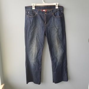 Lucky Brand Embroidered Pocket Sweet N Low Jean's